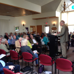 David Ranney speaking to the Unitarian Universalist Fellowship of Door County, Wisconsin on June 14, 2015.