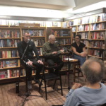 Dave with Jarrod Shanahan and Zhana Kurti at McNally Jackson Books NY
