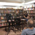 Dave with Jarrod Shanahan and Zhana Kurti at McNally Jackson Books NY