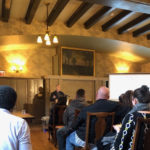 Dave speaking at the UIC event at Hull House April 18
