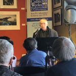Dave Speaking at Collected Works in Santa Fe