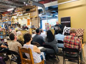 David Ranney at Bookworks in Albuquerque